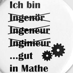 Ingenieur - Buttons groß 56 mm