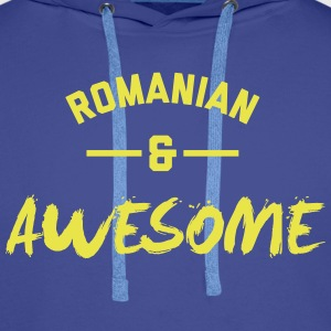 Romania Awesome Rugby – Hoodies - Men's Premium Hoodie