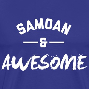 Samoa Awesome Rugby – Mens tshirts - Men's Premium T-Shirt