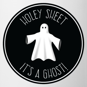 Holey Sheet - It's A Ghost! Mugs & Drinkware - Mug
