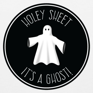 Holey Sheet - It's A Ghost! Tank Tops - Men's Premium Tank Top