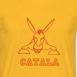 catala burro rouge - T-shirt Homme