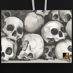 Tête de mort - Sweat-shirt contraste