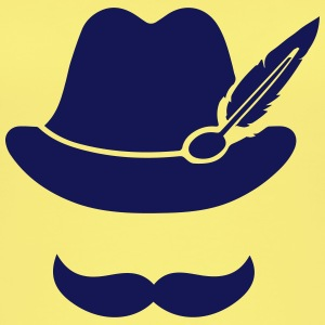 Cool Moustache (Hat) Oktoberfest Smiley - Outfit Topit - Naisten luomutoppi