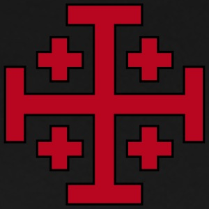 Jerusalem Cross T-Shirts - Men's Premium T-Shirt