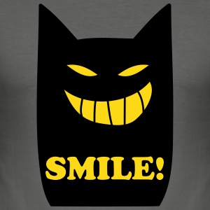 smile T-Shirts - Männer Slim Fit T-Shirt
