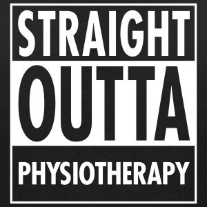 Straight Outta Physiotherapy T-Shirts - Women's V-Neck T-Shirt