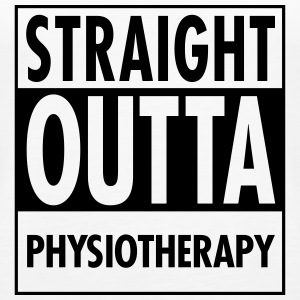 Straight Outta Physiotherapy Tops - Women's Premium Tank Top