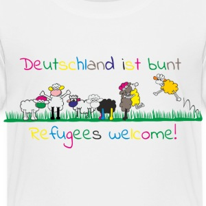 refugees welcome T-Shirts - Kinder Premium T-Shirt
