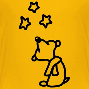 Bear - watch star Shirts - Teenage Premium T-Shirt