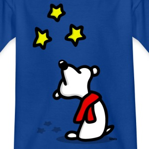 Bear star gazing - png Shirts - Kids' T-Shirt