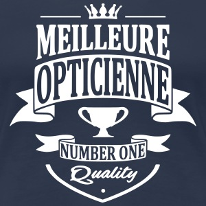 Meilleure Opticienne Tee shirts - T-shirt Premium Femme