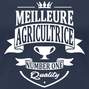 Meilleure Agricultrice Tee shirts - T-shirt Premium Femme