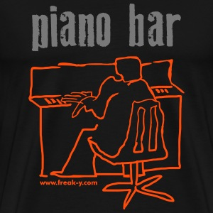 piano bar - Männer Premium T-Shirt