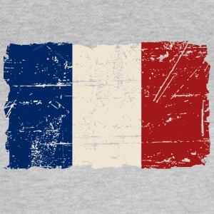 France Flag - Vintage Look T-Shirts - Frauen T-Shirt