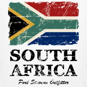 South Africa Flag - Vintage Look T-Shirts - Männer Bio-T-Shirt