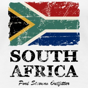 South Africa Flag - Vintage Look T-Shirts - Frauen Premium T-Shirt
