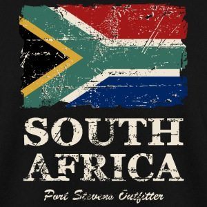 South Africa Flag - Vintage Look Pullover & Hoodies - Männer Pullover