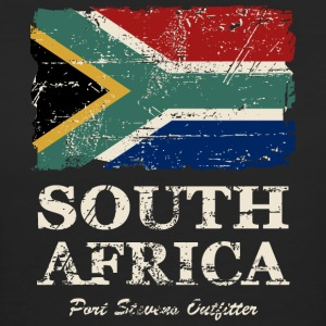 South Africa Flag - Vintage Look T-Shirts - Frauen Bio-T-Shirt