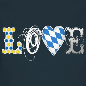 Love Bavaria White T-Shirts - Frauen T-Shirt