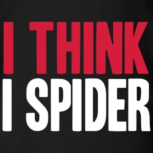 I THINK I SPIDER (DENGLISCH) Tee shirts - Body bébé bio manches courtes