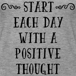 A Positive Thought  Tops - Women's Premium Tank Top