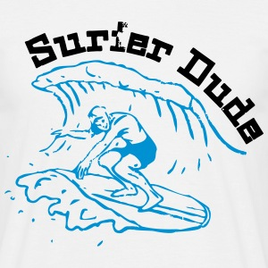 Surfer Dude - Mannen T-shirt