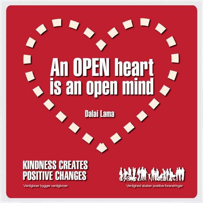 Open heart Men Tshirt
