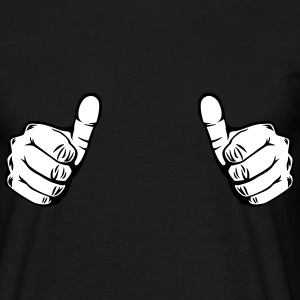 thumbs up T-Shirts - Männer T-Shirt