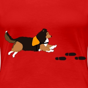 Free search Sheltie T-shirts - Dame premium T-shirt