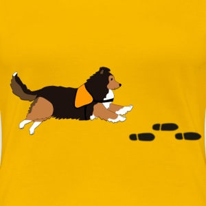 Free search Sheltie Tee shirts - T-shirt Premium Femme