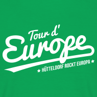 Tour d'Europe – Hütteldorf rockt Europa T-Shirt