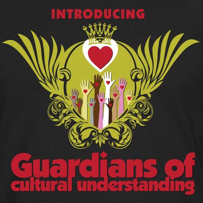 Guardians of culturel understanding -  Herre langærmet Tshirt