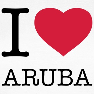 I LOVE ARUBA - T-shirt dam