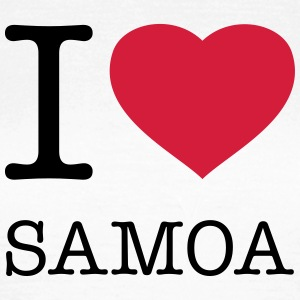 I LOVE SAMOA T-Shirts - Women's T-Shirt