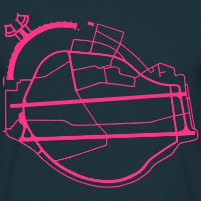 Tempelhofer Feld Freiheit neon-pink