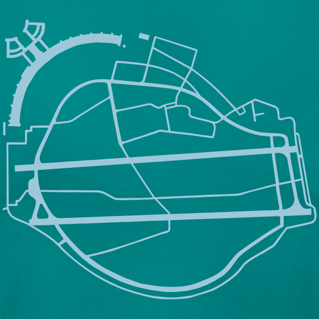 Tempelhofer Feld Berlin (silber)