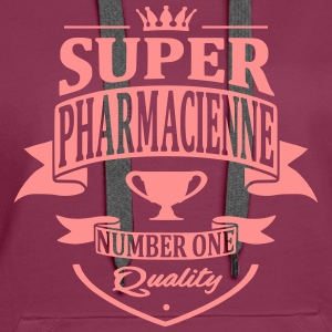 Super Pharmacienne Sweat-shirts - Sweat-shirt à capuche Premium pour femmes