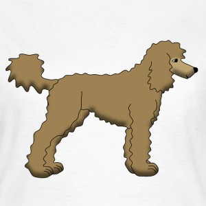 Poodle Brown T-Shirts - Women's T-Shirt