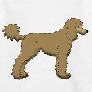 Poodle Brown Shirts - Kids' T-Shirt