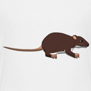 Rat T-shirts - Teenager premium T-shirt
