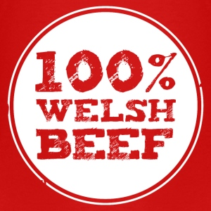 Wales rugby - 100% Welsh Beef - Kids tshirts - Kids' Premium T-Shirt