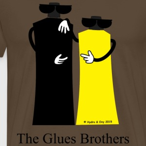 The Glues Brothers T-Shirts - Männer Premium T-Shirt