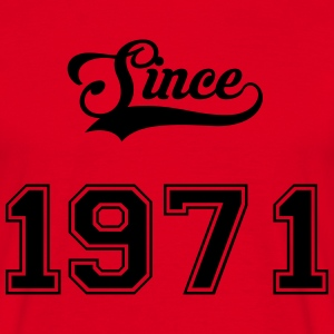 1971 Tee shirts - T-shirt Homme
