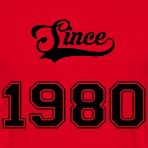 1980 Tee shirts - T-shirt Homme