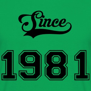 1981 Tee shirts - T-shirt Homme
