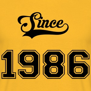 1986 Tee shirts - T-shirt Homme