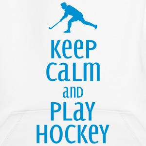 keep calm and play hockey Sweaters - Kinderen trui Premium met capuchon