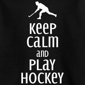 keep calm and play hockey Tee shirts - T-shirt Ado