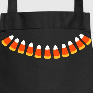 Candy Corn halloween Necklace patjila  Aprons - Cooking Apron